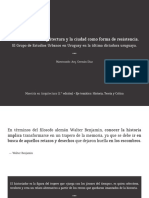 Presentación Grupo de Estudios Urbanos (Uruguay)
