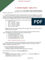 Invitatie Participanti CONILFEST 2018- Editia a-XV-A