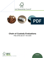 FSC-STD-20-011 V4-0 en Chain of Custody Evaluations