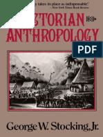 STOCKING JR., George. Victorian Anthropology (Free Press, 1991)