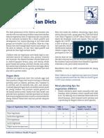 Vege Diet Sen 0910