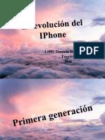 La Evolución Del iPhone
