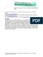 Teoría de la Omisión y su impacto en el proceso de enseñanza aprendizaje de la Física.