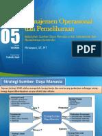 PPT 5 Manajemen Operasional