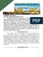 Lectio Domingo de Ramos