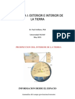 GEOLOGIA_Lecture 4_Prospeccion Del Interior de La Tierra_Paul Arellano