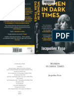 Jacqueline Rose-Women in Dark Times-Bloomsbury (2014)