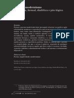 ANTELO, Raul - Poesia e modernismo.pdf