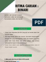 Algoritma Carian (Binari)