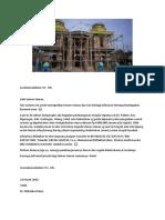Info Amal Pembangunan Masjid Pakem Jateng