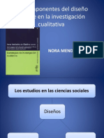 22 Los Componentes Del Diseno Flexible en La Investigacion Cualitativa