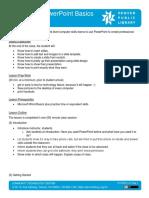 Microsoft PowerPoint - Basics Lesson Plan