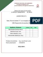 Laboratorio 1 Próctor para CBR