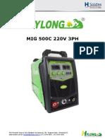 MIG 500C 220V