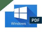 Manual de Windows 10