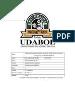 Proyecto Final Descripcion y Analisis de Puesto de Trabajo