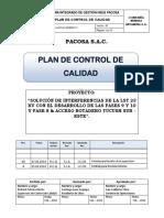 Plan de Control de Calidad - LST 23 Kv ANTAMINA Rev. 00