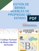 Gestión de Bienes Patrimoniales Bienes a Inventariar