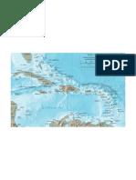 Mapa Caribe.
