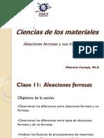 Clase 11. Aleaciones Ferrosas