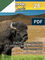 El Contacto de Los Nomadas Con El Bisonte