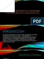 La idea de desarrollo sostenible Valores eticos y axiologicos.pptx