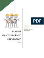 Plan de Mantenimiento Preventivo