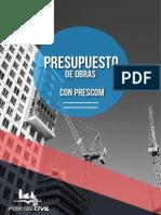 Brochure Presupuestos PRESCOM