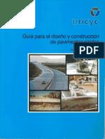 Guia Para El Diseño y Construccion de Pavimentos Rigidos