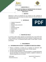 4.3-Determinacion de Factor de Contraccion Por Parafina
