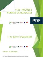 1122- Noes e Normas Da Qualidade - Manual