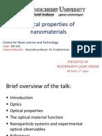 opticalpropertiesofnanomaterials-140319075913-phpapp02