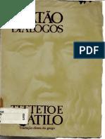 f91b22672 Platão - TEETETO e CRÁTILO.pdf