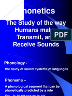 Phonetic Sounds