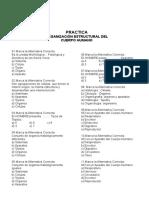 Practica  de Organizacion Estructural Del Cuerpo Humano