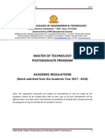 R17 M.tech (PG) Academic Regulations 2017