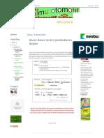 Dasar2 & Terminology Internal Combustion Motor