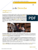 ¿Qué Es Derecho Adjetivo_ - Su Definición, Concepto y Significado