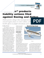 Withey Bleed Air Products Liability Actions Filed Against Boeing and Airbus Plaintiff Magazine