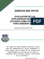Multiple Intelligenc Presentation Spanish
