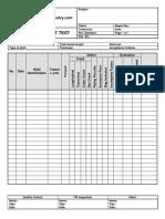 Liquid Penetrant Quality Control and Inspection Report Form 1