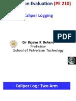 3..Caliper Loggging