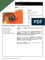 Hoja de Impresión de Chocolate a La Taza