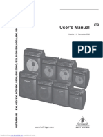 Behringer BXL User Manual