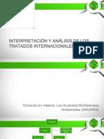 3 Derecho Internacional Ambiental Clase 2- Interpretación de Los Tratados