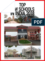 Top Law Schools in India 2018