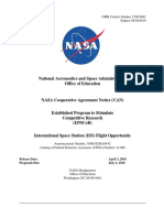 Nasa Epscor Iss Can 2018