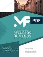 Manual de Identidade Visual - MF Consultoria em Recursos Humanos