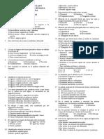 Examen de Anatomia I (Segunda Unidad I) Bryan 1