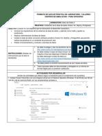 Práctica 1 de Laboratorio BD 2 - Instalacion de la base de datos Oracle 12c, Mysql y PostGRESQL - Alvaro Mejia - 2018